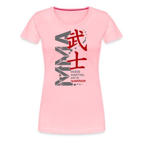 MMA WARRIOR - Women's Premium T-Shirt