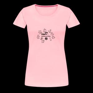 ALL CAT PARTY T-SHIRT - Women's Premium T-Shirt