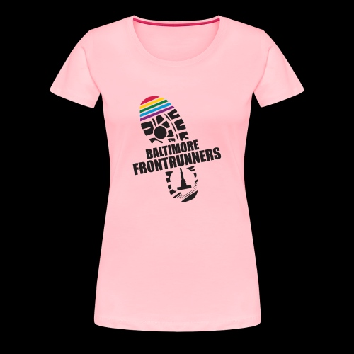 Baltimore Frontrunners Black - Women's Premium T-Shirt