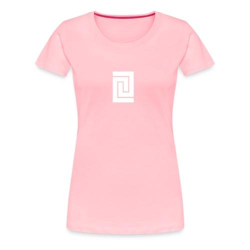 PlainWhiteLogo - Women's Premium T-Shirt