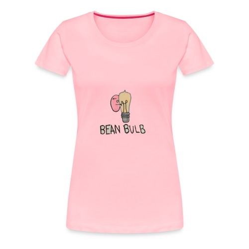 Bean Bulb - Women's Premium T-Shirt