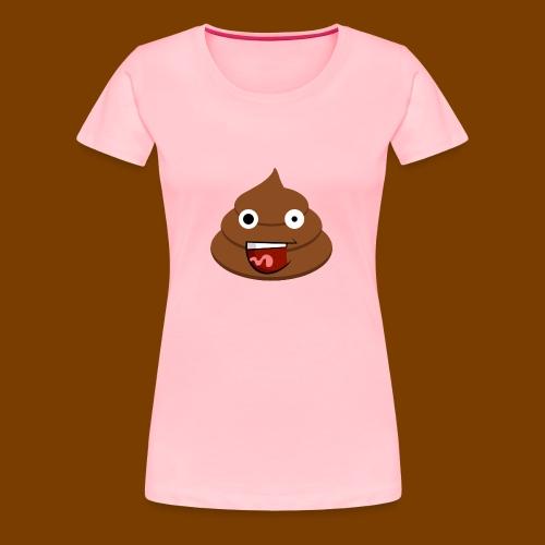 Poop Logo - Women's Premium T-Shirt