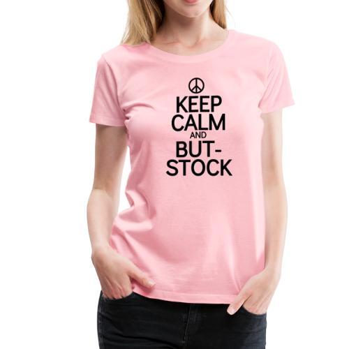 Keep But blk peace sign - Women's Premium T-Shirt