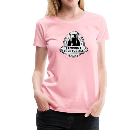 Brewing A Cure Logo Merchandise - Women's Premium T-Shirt