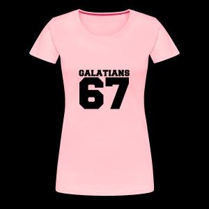 G67 - Women's Premium T-Shirt