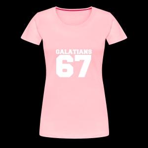 G67 White - Women's Premium T-Shirt