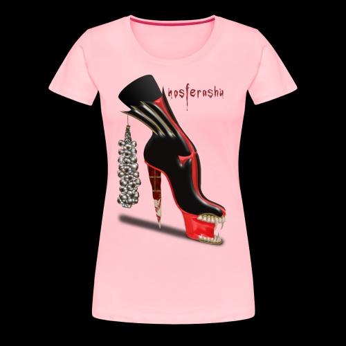 Nosferashu Vampire Shoe - Women's Premium T-Shirt