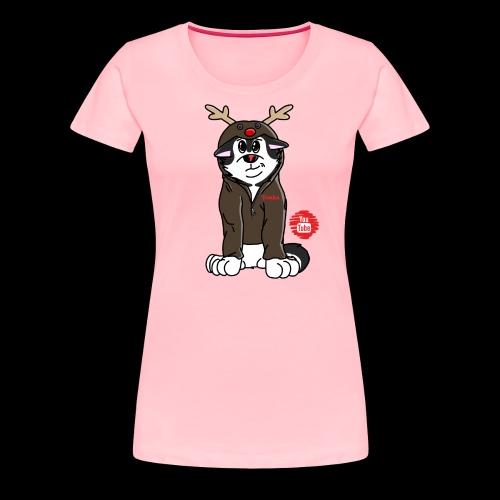 TonkaReindeerYouTube - Women's Premium T-Shirt