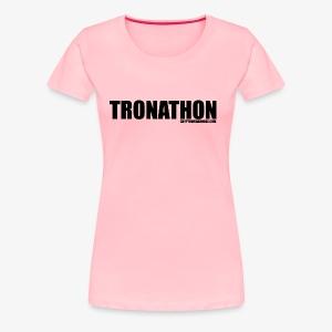 Tronathon CW - Women's Premium T-Shirt