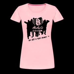 BloccBoyEnt. - Women's Premium T-Shirt