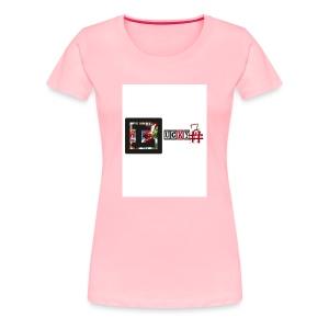 Lucky7 logo - Women's Premium T-Shirt