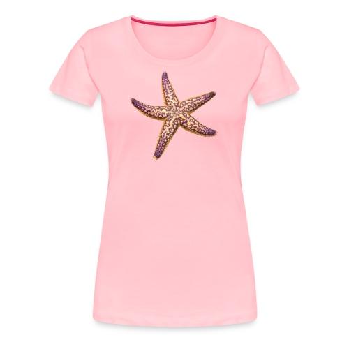 Pink 'n Purple starfish - Women's Premium T-Shirt