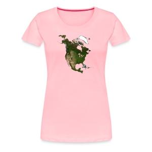 North America - Women's Premium T-Shirt