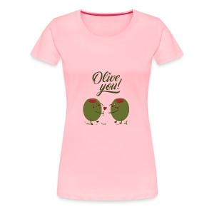 olive - Women's Premium T-Shirt
