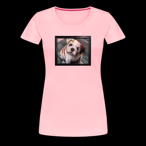 Esoteric Designs ~ Bulldog. Bull dog. - Women's Premium T-Shirt