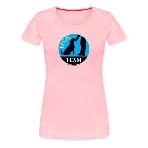 FENZITEAM Logo W - NOT FOR BLACK - Women's Premium T-Shirt