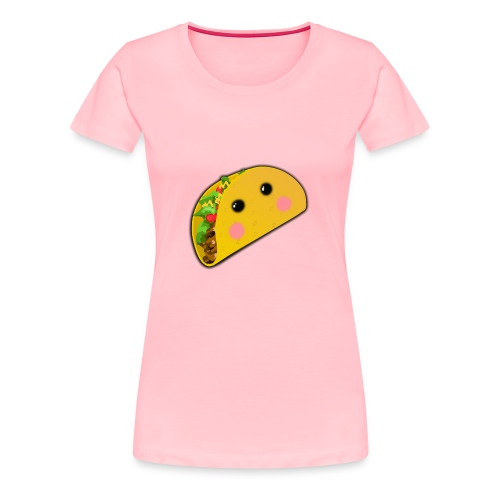 Kawaii Taco - Women's Premium T-Shirt