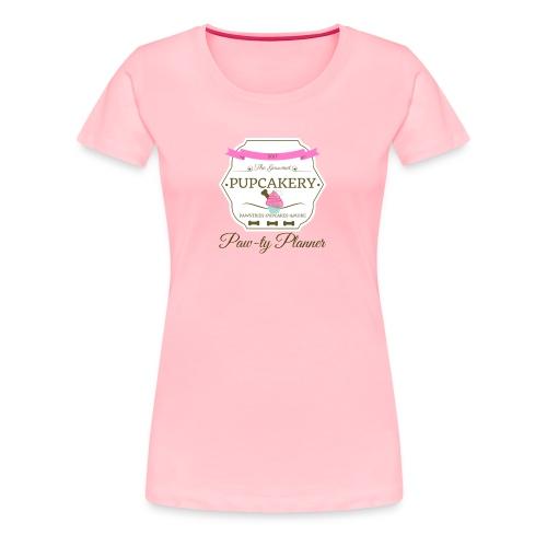 Paw-ty Planner - Women's Premium T-Shirt