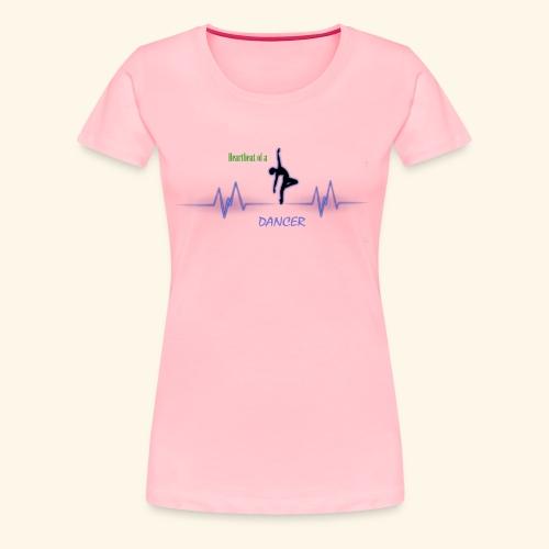 heartbeatdancer1 - Women's Premium T-Shirt