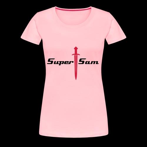 SuperSamB - Women's Premium T-Shirt