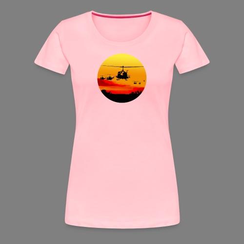 HUEYSUNRISE/1808/US - Women's Premium T-Shirt