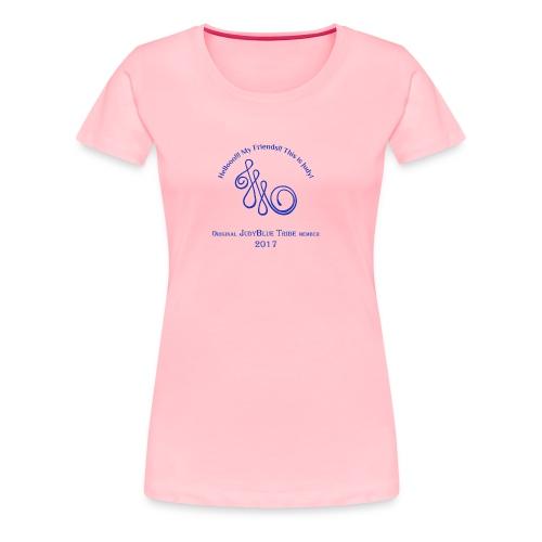 Original Member JudyBlue Tribe 2017 (blue logo) - Women's Premium T-Shirt