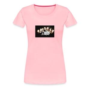 tumblr static 3gzsiwavj0mcocg88wk8woskc - Women's Premium T-Shirt