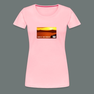 Risen Records Crater Lake Sunset - Women's Premium T-Shirt