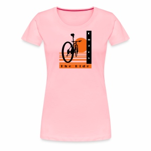Bicycle Cool Ride T-Shirt - Women's Premium T-Shirt
