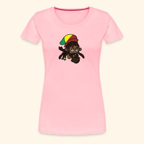 Rasta Ricky Head Logo - Women's Premium T-Shirt