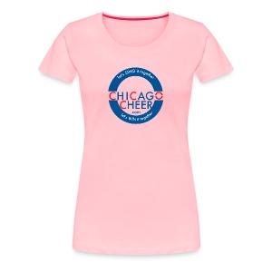 ChicagoCheer.Com - Women's Premium T-Shirt
