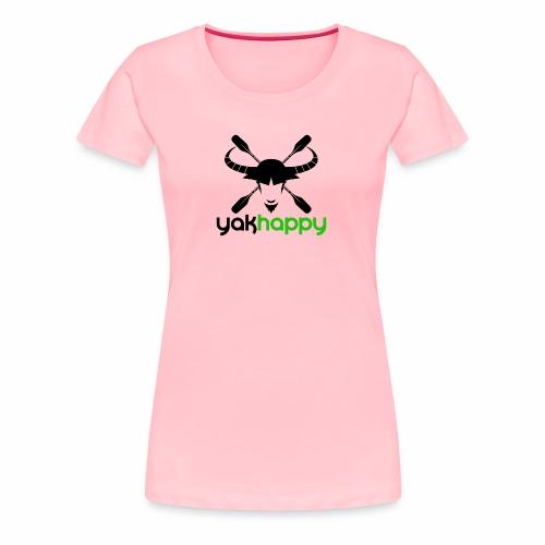 Yakhappy Logo - Women's Premium T-Shirt