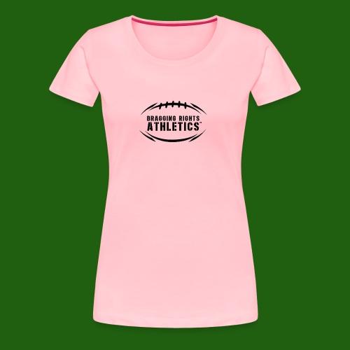 BRA Football Outline - Women's Premium T-Shirt