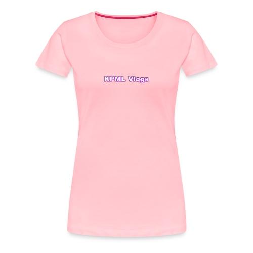 subscribe KPML - Women's Premium T-Shirt