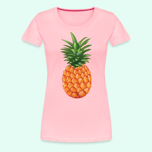 pineapple testshop - Women's Premium T-Shirt