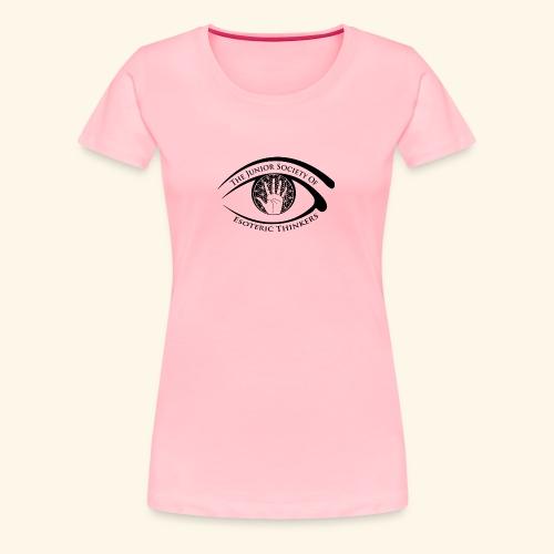 Society of Esoteric Thinkers black logo - Women's Premium T-Shirt