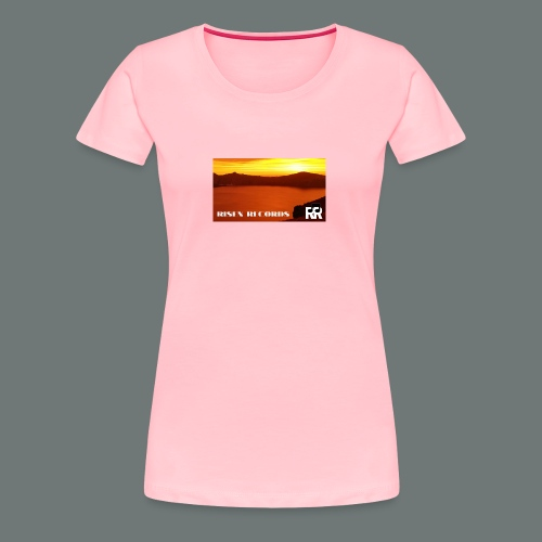 Risen Records Crater Lake Sunset - Women's Premium T-Shirt