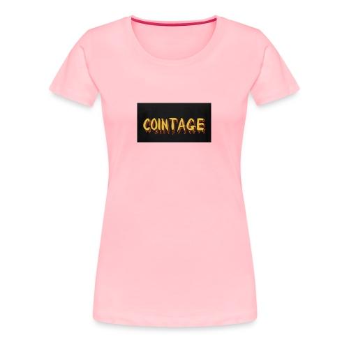 Cointage - Women's Premium T-Shirt