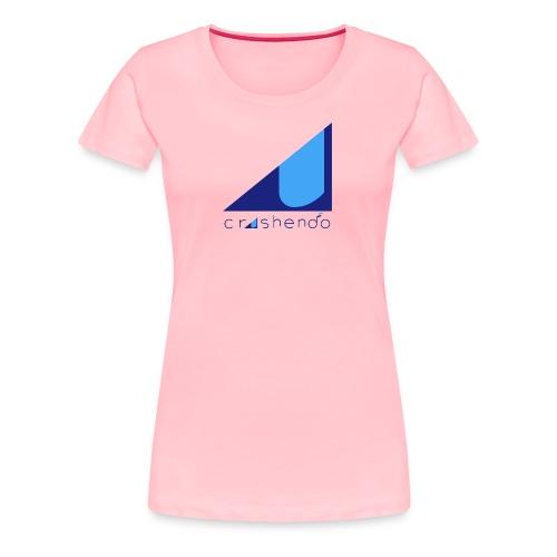 Blue crescendo - Women's Premium T-Shirt