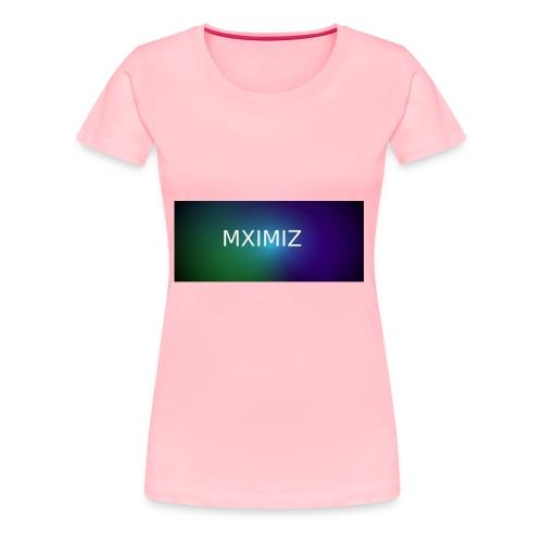MXIMIZ youtube love - Women's Premium T-Shirt