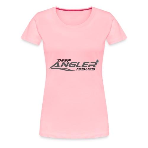 DeepAngler - Women's Premium T-Shirt