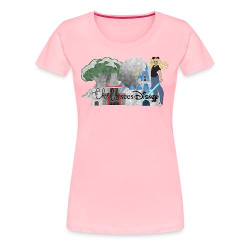 Chels Sees Disney Full Logo 1 - Women's Premium T-Shirt