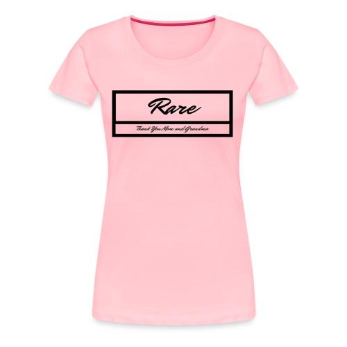 RARE women/girls - Women's Premium T-Shirt