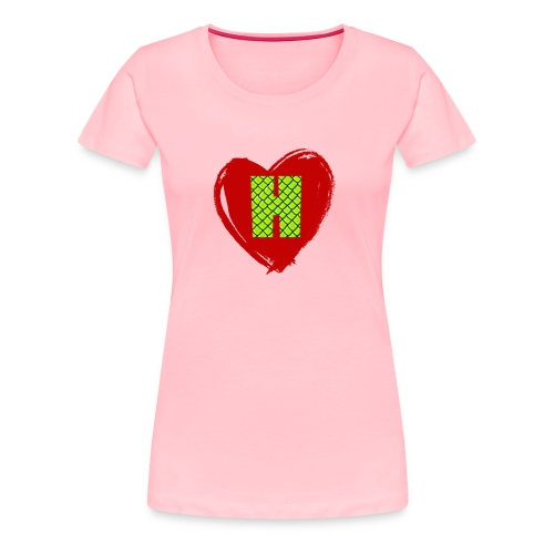 I Heart Habu - Women's Premium T-Shirt