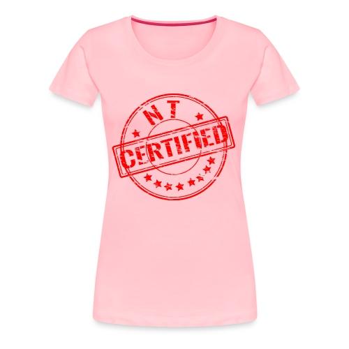 Certified Stamp Design - Women's Premium T-Shirt
