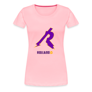 No Boarder Purple R - Women's Premium T-Shirt