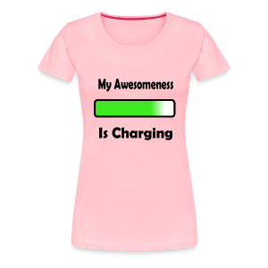 awesomenessgreen - Women's Premium T-Shirt