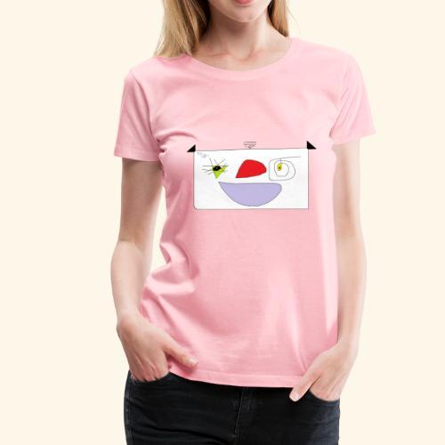 Cute cartoon. - Women's Premium T-Shirt