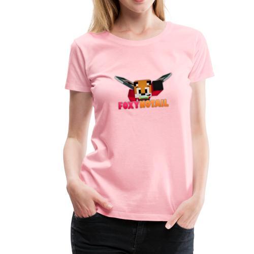 Flying + Logo - Women's Premium T-Shirt