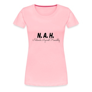 NAH Horizontal - Women's Premium T-Shirt